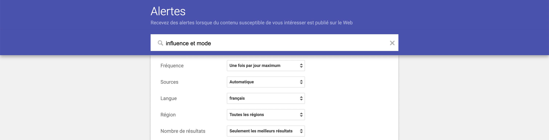 Google alerte_Hivency blog