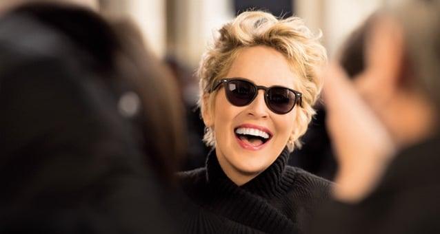Afflelou Sharon Stone