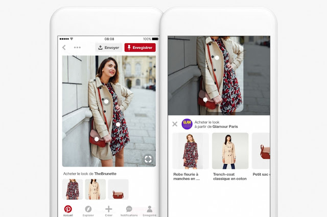 Le social commerce arrive: Instagram, Snapchat, Pinterest, les applications activent la fonctionnalité shopping !