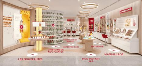 clarins virtual store