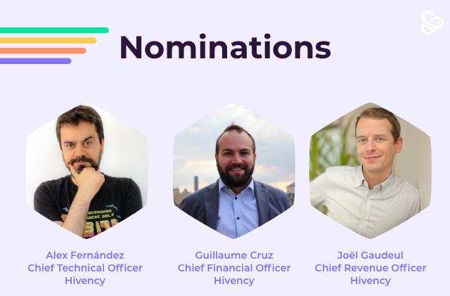 3 nouvelles nominations au sein de la plateforme d'influence Hivency_Blog Post