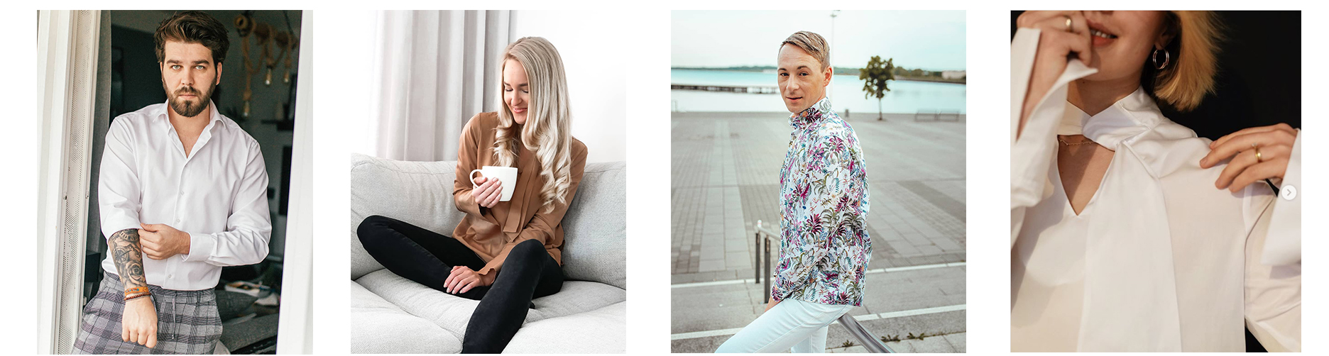 Micro-Influencer der Modemarke Eterna