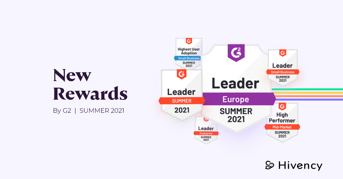 2021 G2 reports are published - Hivency named as leader