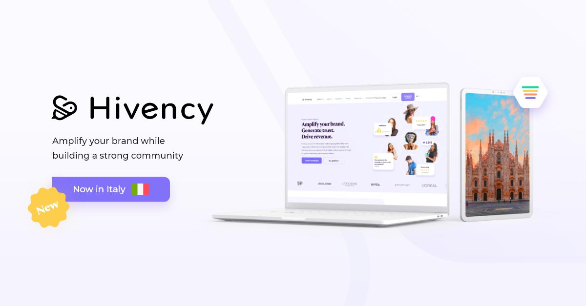 Hivency-influencer-platform-italian-market