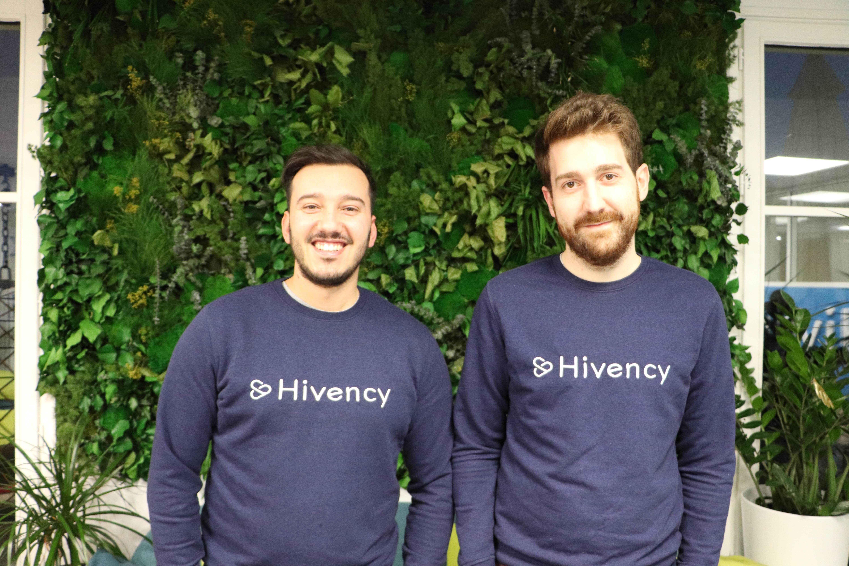 Dorian Ciavarella et Sylvain Gasc, les deux fondateurs de Hivency. © Hivency