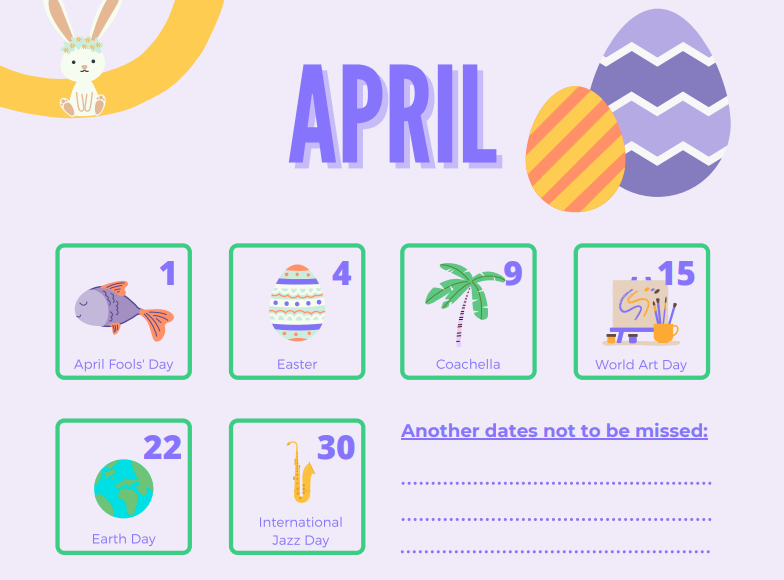 Influencer marketing calendar by Hivency Blog