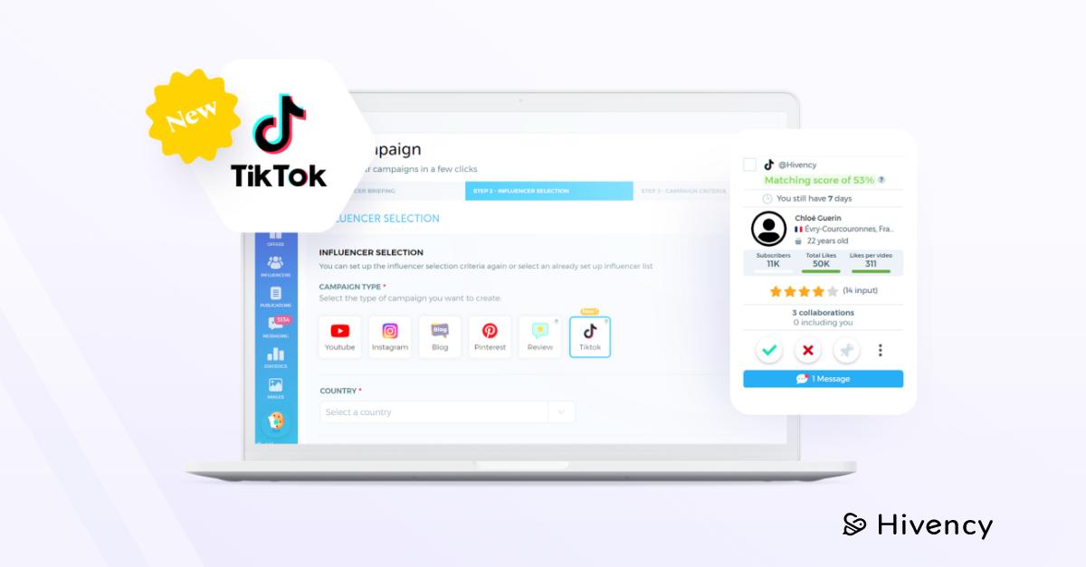 TikTok on the Hivency platform