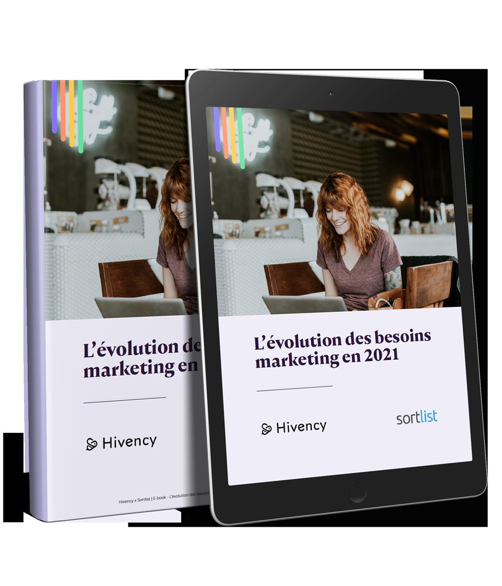 E-book Hivency x Sortlist | L'évolution des besoins marketing en 2021